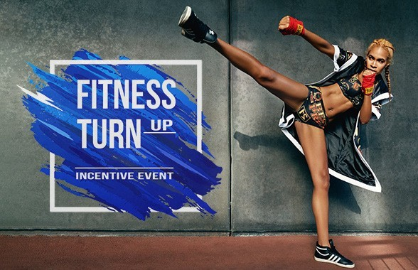 BB Thomaz präsentiert das neue Incentive Event FITNESS TURN UP