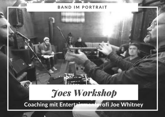 Im Workshop von Entertainmentlegende Joe Whitney erfahren die teilnehmer von Groundtown 99 alle Tricks des Entertainments